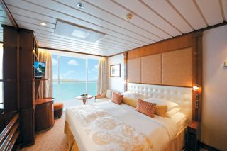 Balcony Stateroom (Category C) on The Gauguin.